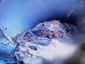 מצלמת נחש לאיתור נזילות מרזב צינורות - אטים