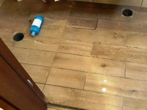 בדיקת הצפה לחדרים רטובים - אטים